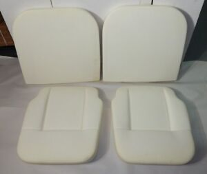 New 4 Piece Seat Foam Cushion Set Lower Upper For Mgb 1962 1968 Made In Uk