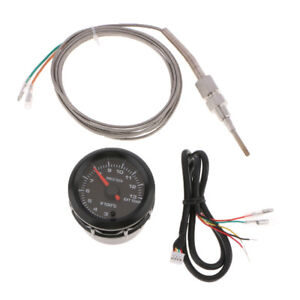52mm Digital Led Exhaust Gas Temperature Gauge Egt For Car Truck With Cable