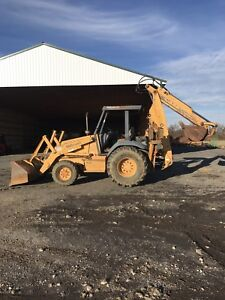 Case 590l Backhoe Extended Hoe 4x4