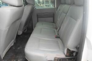 2012 Ford F250sd Rear Back Seat Bench As Gray Vinyl Crew Cab 544955