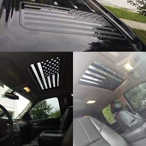 American Flag Sunroof Decal Large Graphic Car Truck Trailer Usa Vinyl Auto V6 1