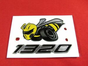Dodge Challenger 1320 Angry Bee Drag Pack Emblem Badge Left Side New Oem Mopar