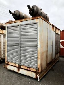 Used 500 Kw Diesel Generator Cummins Vta 28 g1 Enclosed Tested For Sale Vta28