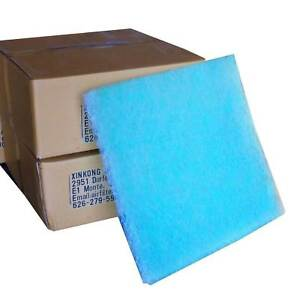 Paint Spray Booth Exhaust Filter 20x20x2cm 100 case