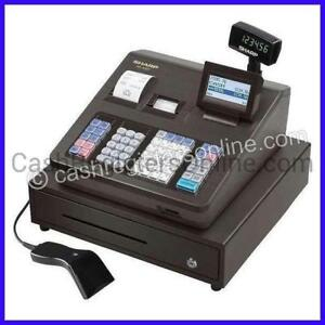 Sharp Xe a507 Cash Register With Barcode Scanner Easy Programming New