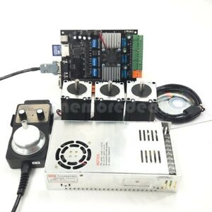 Usb Cnc 3 Axis Nema23 Stepper Motor 57 mdk2 Motor Controller Board Mpg Kit Dl45