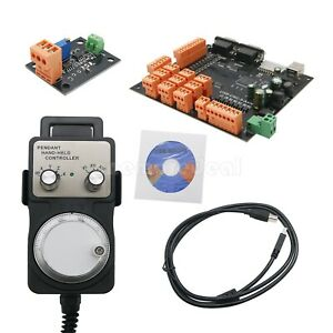 9 Axis Cnc Controller Kit 100khz Stepper Motor Controller Breakout Board W Mpg