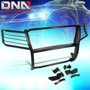 For 2007 2014 Chevy Suburban Tahoe Mild Steel Front Bumper Grille Brush Guard