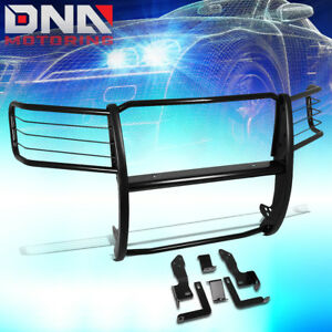 For 2011 2014 Gmc Sierra 2500hd 3500hd Black Mild Steel Front Bumper Brush Guard