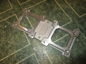 Weiand 7163 256 8 71 Carburetor Blower Adapter Dual Quad Super Charger Top Plate