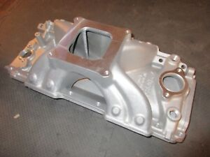Edelbrock Intake Manifold 29020 Bbc Victor Jr 454 r 4150 Single Chevy 502 396