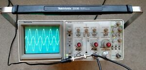 Tektronix 2235 100mhz Two Channel Oscilloscope Calibrated 2 Probes Sn B023300