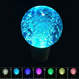 55mm Touch Activated Crystal Ball Shape Led 7 Colors Shift Knob