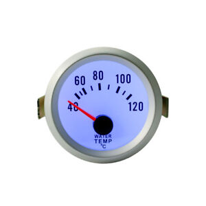 2 52mm Universal Car Digital Led 40 120 Water Temp Temperature Gauge Meter