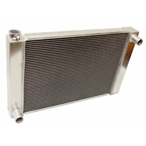 2 Row Universal Fabricated Aluminum Racing Radiator For Ford Mopar 24 X19 X3