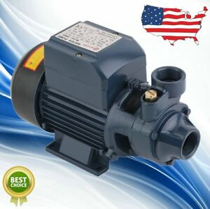 New 1 2hp Electric Industrial Centrifugal Clear Clean Water Pump Pool Pond Farm
