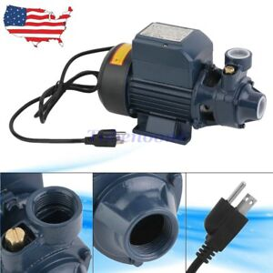 Full Body Steel 1 2hp Electric Industrial Centrifugal Clear Clean Water Pump To1