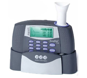 2001 np Easyone Plus Diagnostic Spirometry System With Cradle