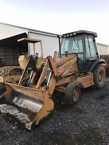Case 570xt Loader Runs And Operates But Needs Work Read Description