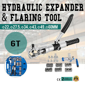 Universal Hydraulic Expander And Flaring Tool 5 22 Mm Sheet Metal 6t Excellent