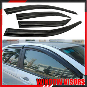 For 2012 2017 Toyota Camry Window Visor Rain Guard Shade Deflector Style 4pc