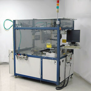 Adept Technology 3 axis Fluid Dispensing Cartesian Robot Cell With Controller