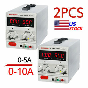 0 Pc 5 10a 30vdc Power Supply Adjustable Dual Digital Variable Precision Lotto