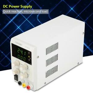 Variable Regulated Dc 0 30v 0 5a 110v Adjustable Digital Power Supply Us Stock