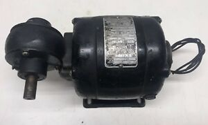 Vintage Bodine Electric Company Speed Reducer Motor Type Nsf 33r