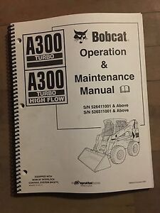 Bobcat A300 And A300 High Flow Operators Manual