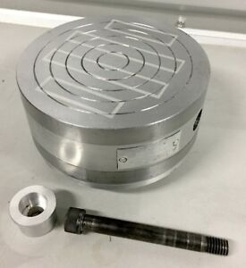 Washington Tools 6 Round Permanent Magnetic Chuck W Harig Indexer Mount