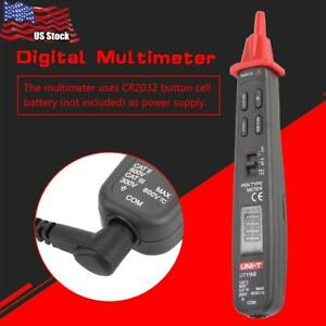 Uni t Ut118b Digital Multimeters Dc ac Voltage Capacitance Resistance Tester Usa