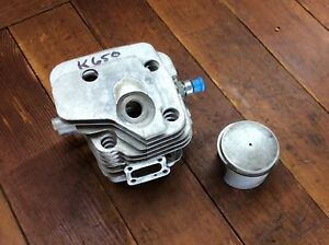 Partner K650 K700 Oem Used Piston Cylinder Assembly 50mm Cut off Concrete Saw