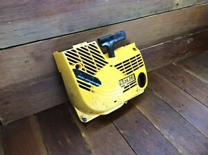 Partner K650 K700 Oem Used Starter Cover Recoil Assembly Cut off Concrete Saw 2