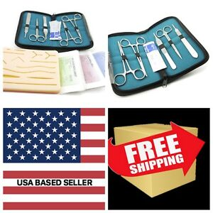 Complete Suture Practice Kit For Suture Training