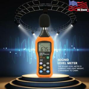 Lcd Sound Noise Level Meter Decibel Logger 30 130db Digital Noise Measurement Us