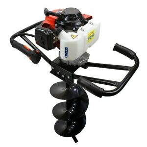 Epa 3hp Two 2 Man 63cc Gas Post Earth Planting Hole Auger Digger Machine Drills