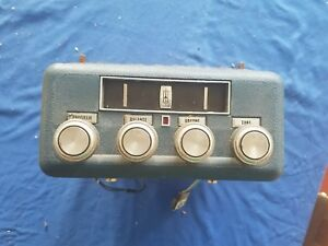1966 1967 1968 69 70 71 72 Oldsmobile Olds 8 Track Player Unit Orig Gm Delco