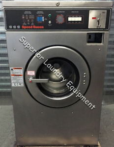 Speed Queen Sc30md2 Washer extractor 30lb Coin 220v 1ph Reconditioned