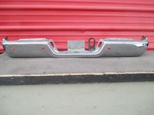 Dodge Ram Rear Chrome Bumper Oem 2009 2010 2011 2012 2013 2014 2015 2016 13 14