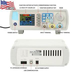 Jds6600 Dds Signal Generator Counter Digital Control Sine Frequency Ac100 240v