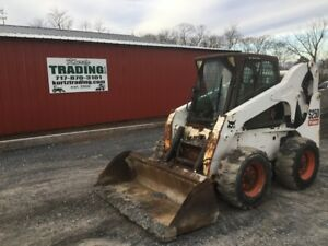 2007 Bobcat S250 Skid Steer Loader W Cab Coming Soon