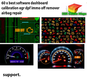 67x best Software Dashboard Calibration Egr Dpf Immo Off Remover Airbag Repair
