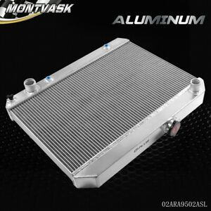 Aluminum Racing Radiator For 1964 1967 A body Pontiac Lemans tempest