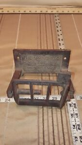 Antique Cast Iron Toilet Paper Roll Holder The Springfield