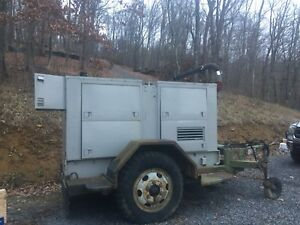 Mep 007b Military 100kw Generator With 651 Hours