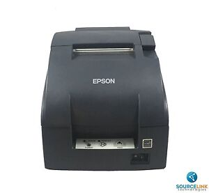Excellent Epson Tmu220b M188b W Auto Cut Receipt Printer Ethernet Interface