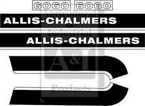 Allis Chalmers 6060 Decal Set