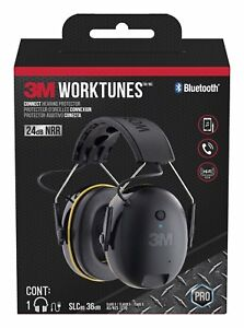 3m Worktunes Connect Hearing Protector Bluetooth Technology Sound Earmuff