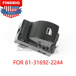 Passenger Side Front Window Lifter Switch For Bmw 04 10 E83 X3 A61316922244 Usa